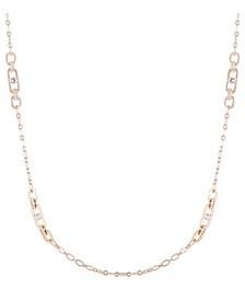 Essential Crystal Link Station Necklace