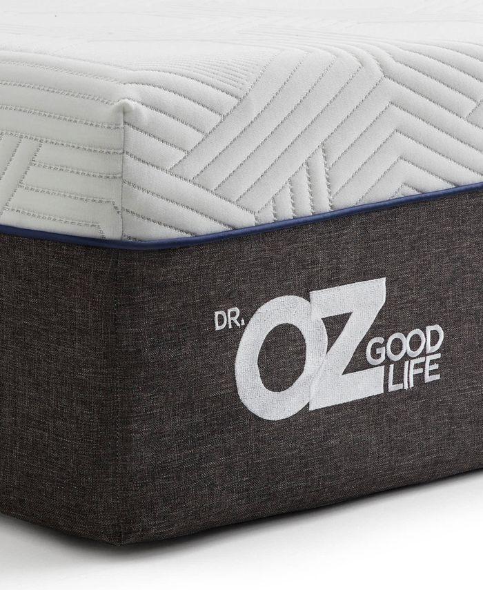 "Dr. Oz Good Life 12"" Plush Hybrid Mattress - California King & Reviews - Mattresses - Macy's"