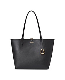 Faux Pebble Grain Reversible Tote