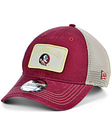 New Era Florida State Seminoles Patch Trucker 9FORTY Cap