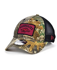 Arkansas Razorbacks Patch Trucker 9FORTY Cap