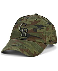 Colorado Rockies Regiment CLEAN UP Cap