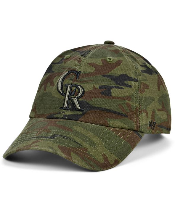 '47 Brand Colorado Rockies Regiment CLEAN UP Cap
