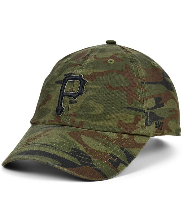 '47 Brand Pittsburgh Pirates Regiment CLEAN UP Cap