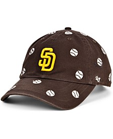 Women's San Diego Padres Confetti Adjustable Cap