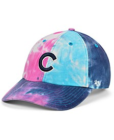 Women's Chicago Cubs Tie Dye Adjustable Cap