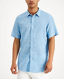 Men's Linen Shirt, Created for Macy's