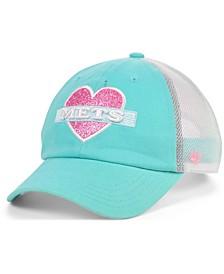 Girls New York Mets Mermaid Heart MVP Cap