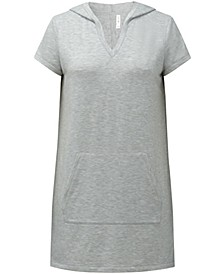 Cotton V-Neck Hooded Tunic, Created for Macy's