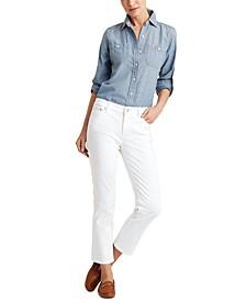 Premier Straight Ankle Jeans