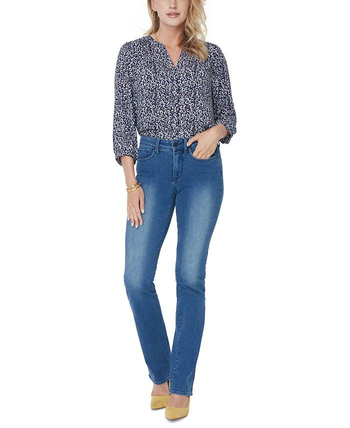 NYDJ - Tummy-Control Marilyn Straight-Leg Jeans