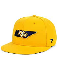 Authentic NHL Headwear Nashville Predators Hometown Fitted Cap