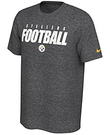 Pittsburgh Steelers Men's Dri-Fit Cotton Football All T-Shirt