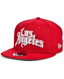 Los Angeles Clippers Clips Custom 9FIFTY Snapback Cap
