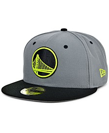 Golden State Warriors Cyber Storm 59FIFTY Fitted Cap