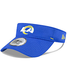 New Era Men's Los Angeles Rams 2020 Training Visor