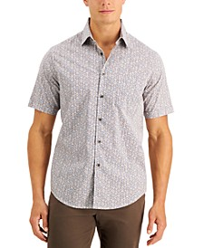 Men's Sagatto Chevron Shirt, Created for Macy's