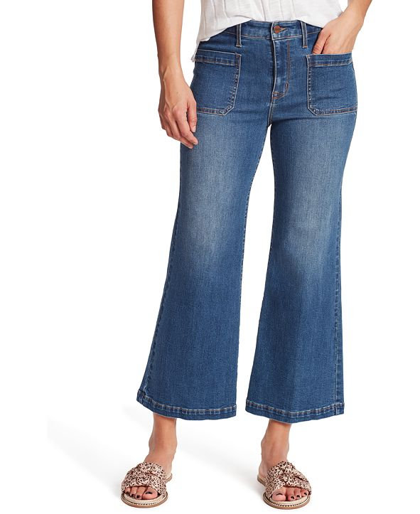 Sanctuary Wide Leg Crop Jeans