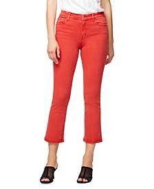 Kick-Crop Denim Jeans