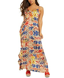 Arianne Ruffled Maxi Dress