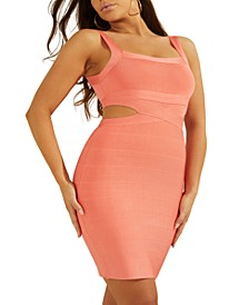 Alessia Open-Back Bandage Dress