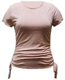 INC Double-Ruched Top, Created for Macy's