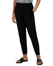 Organic Jogger Pants, Regular & Petite