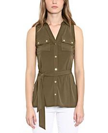 Belted Tunic, Regular & Petite Sizes