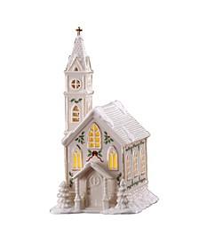 Village Church Figurine
