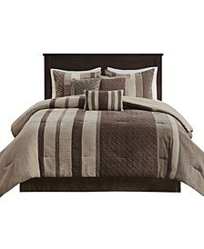 Kennedy 7 Piece Queen Comforter Set