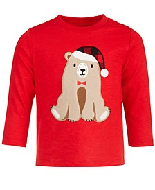 Baby Boys Bear Long-Sleeve T-Shirt, Created for Macy's