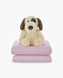 10lb Kids Weighted Blanket and Weighted Dog Toy