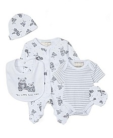 Baby Boys & Girls 5 Piece Sleeper Layette Set