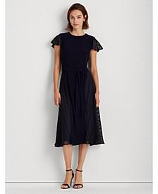 Jersey-Lace Dress