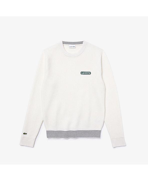 Lacoste Men's Classic Fit Crew Neck Sweater