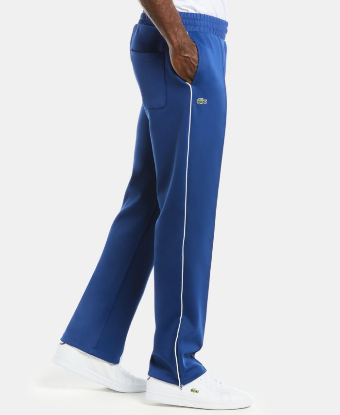Lacoste Men's LIVE Colorblock Neoprene Track Pants with Side Stripe and Logo & Reviews - Pants - Men - Macy's