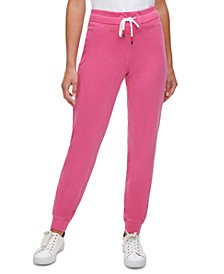 Cotton Slim-Fit Jogger Pants