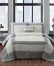 Dartford 4 Piece Comforter Set, Full/Queen