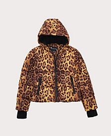 Big Girls Leopard Print Jacket