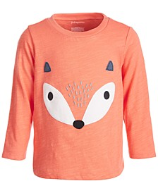 Baby Boys Fox Face Tee, Created for Macy's