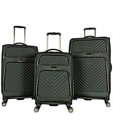 Chelsea 3-Pc. Softside Luggage Set