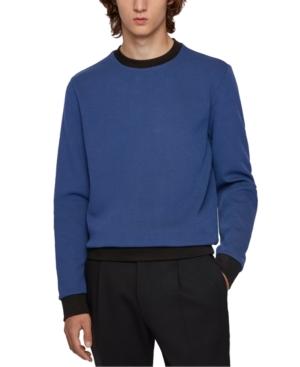 Boss Men's Stadler Two-Tone Sweatshirt