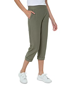 Cuffed Cropped Pants