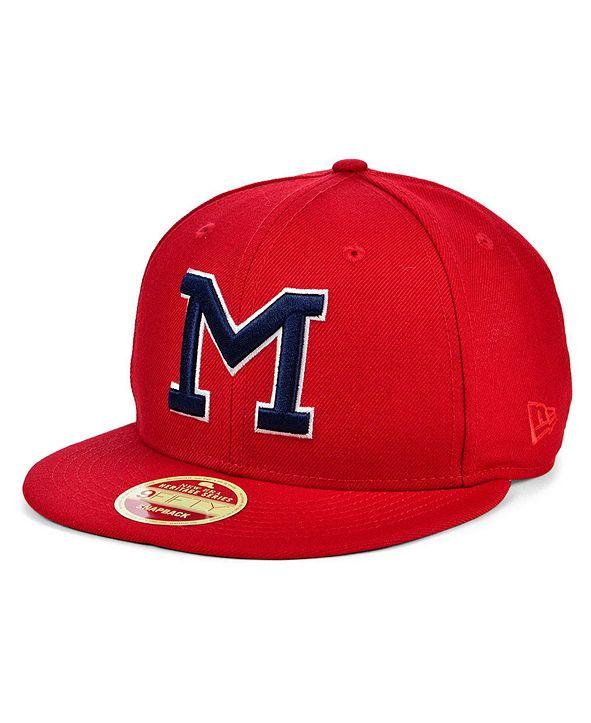 New Era Memphis Red Sox NLB 100th Patch 9FIFTY Cap