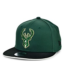 Milwaukee Bucks Youth Team Color Flip Snapback Cap