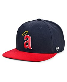 Los Angeles Angels Coop Shot Snapback Cap