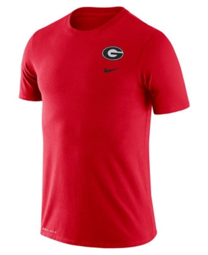 Nike Georgia Bulldogs Men's Dri-Fit Cotton Dna T-Shirt