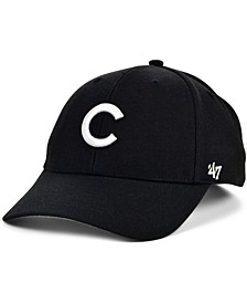 Chicago Cubs Black White MVP Cap