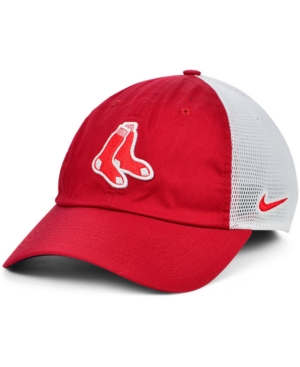 Nike Boston Red Sox Heritage 86 Team Trucker Cap