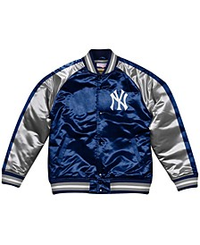 Men's New York Yankees Color Blocked Satin Jacket